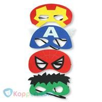 Superheld masker -  Koppen.com