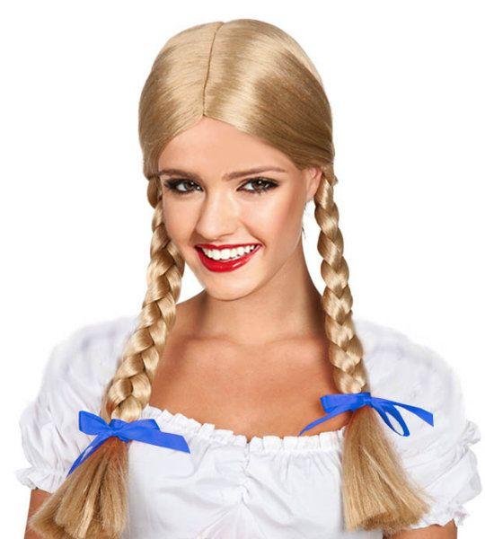 Карнавальный парик «Косы снегурочки»
