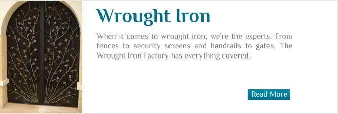 wrought iron furniture perth