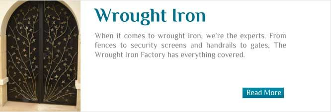 wrought iron furniture perth