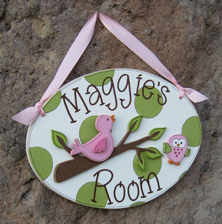 69 best Personalized Door Name Plaques - wooden images on Pinterest ...