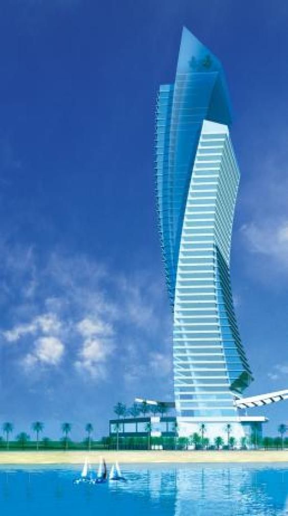 Al Jawhara tower Jeddah, Saudi Arabia,  :: 50 floors, height 224m, Versace Home designed interiors