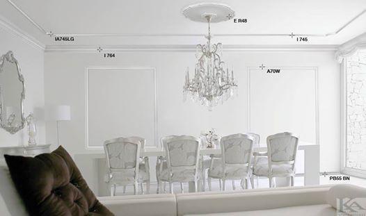 Profile decorative clasice ce aduc un aer de eleganta livingului!
