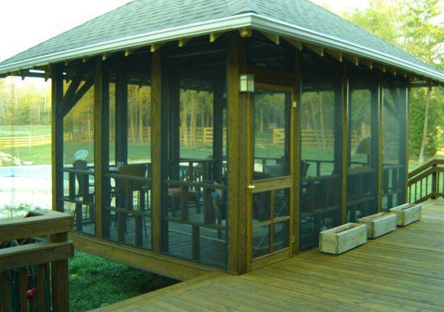 21 Beautiful Freestanding Screen Porch Screen House Screened Gazebo