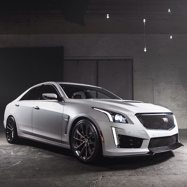 Jones Cadillac: The 2016 CTS-V 640 Hp Supercharged 6.2L V8 0-60 In 3.7 Seconds Top Speed 200 Mph! @Cadillac