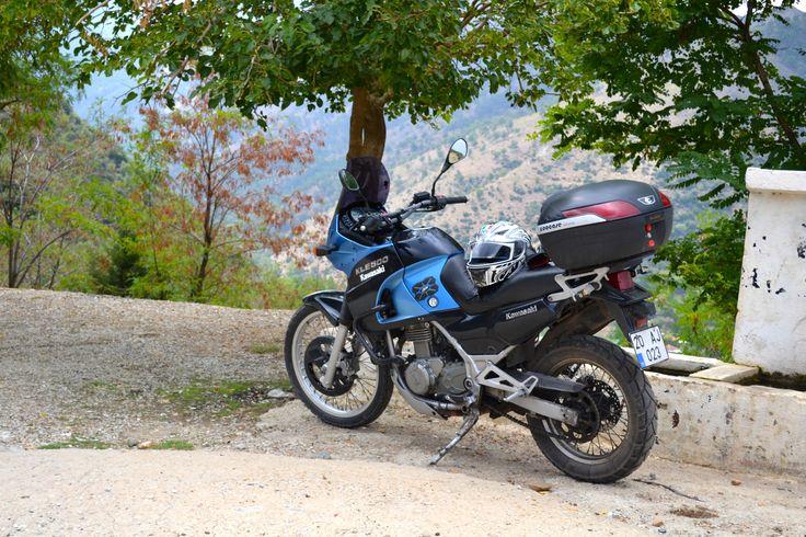 Ilk motorum KLE 500