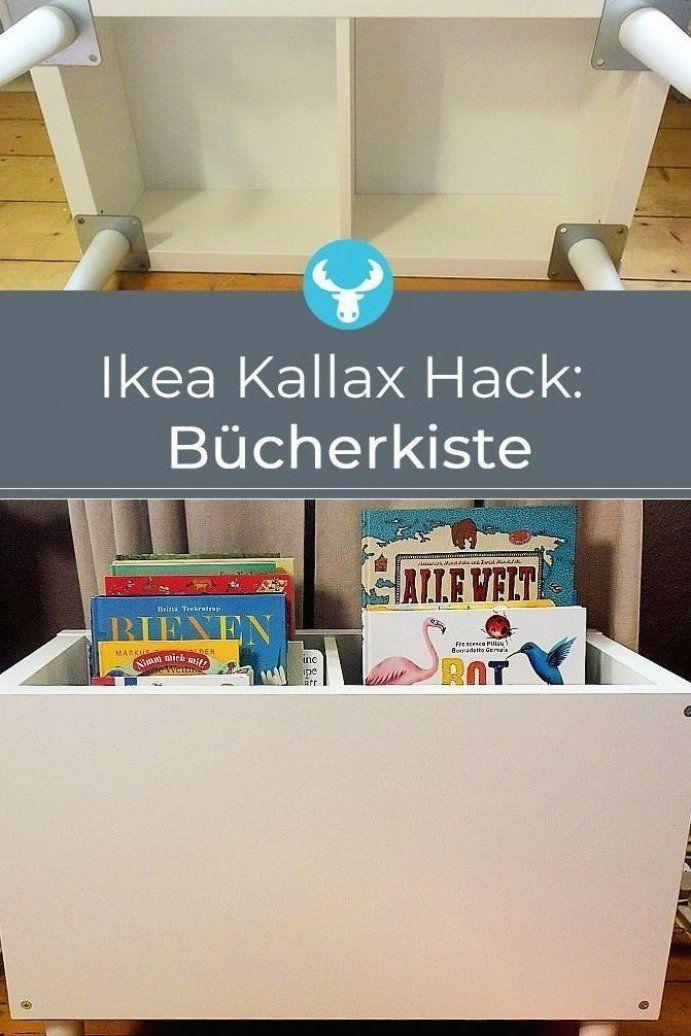 So verwandelst du das Ikea Kallax Regal in nur wenigen Schritten zur praktischen B cherkiste f r ...