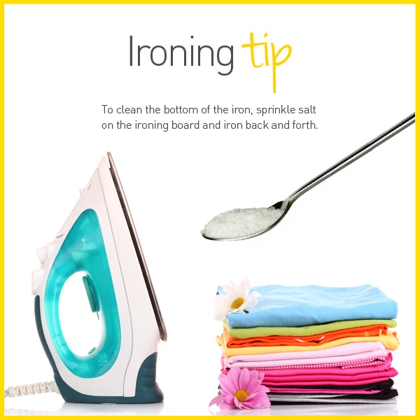 Ironing Tip -  Be sure to visit my Facebook page with any enquiries. https://www.facebook.com/JackieYoung.ENJOpreneur?ref=hl