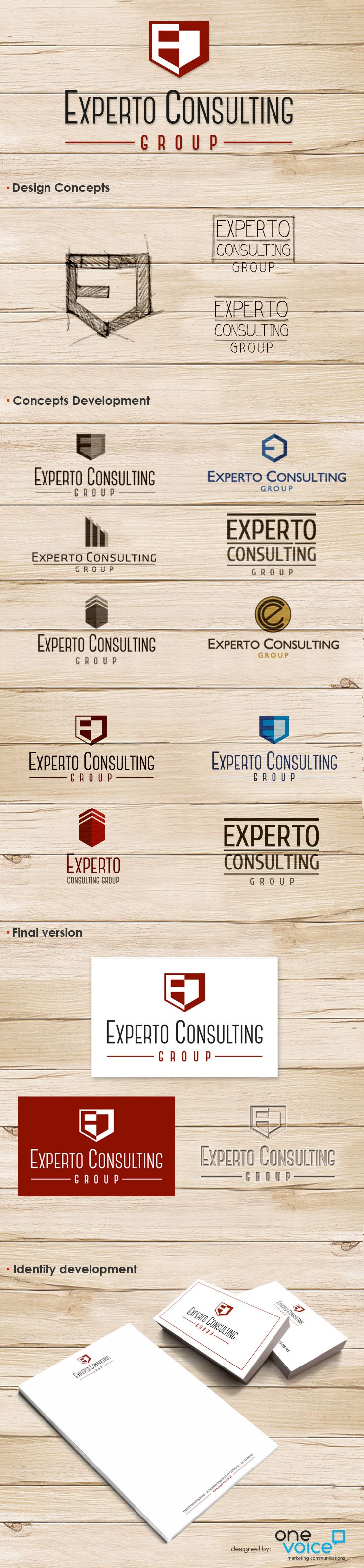 Experto naming and logo design