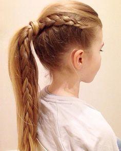 Vlecht kapsels zijn de perfecte kapsels voor de meeste meisjes, of je nou lang of korter haar hebt!