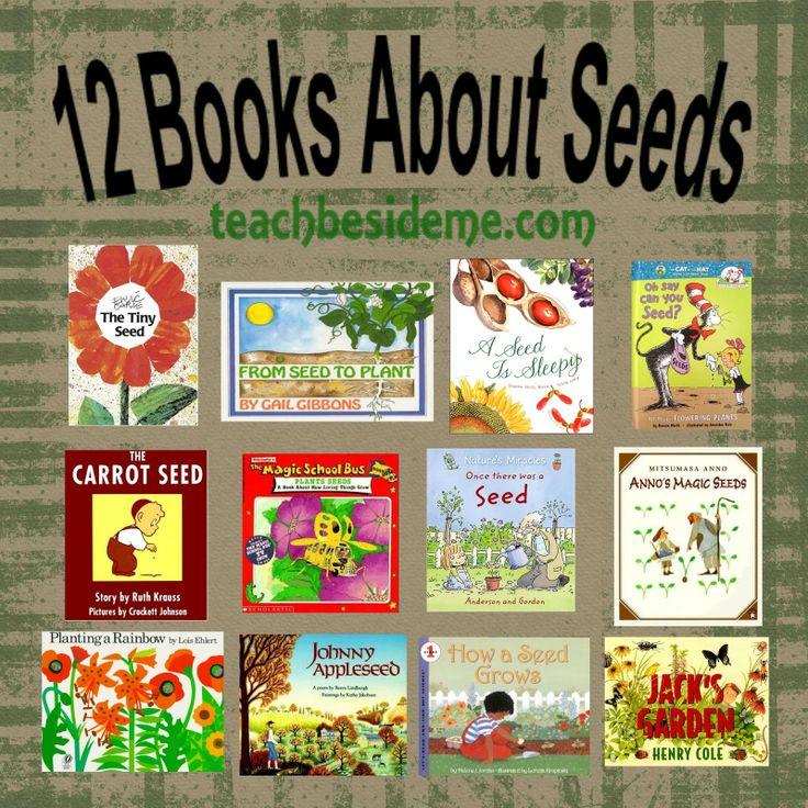 12 Books To Teach Kids All About Seeds. Miss rumphius, peter rabbit