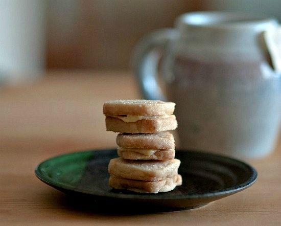 desserts green kitchen tea sandwiches sandwich cookies shortbread ...