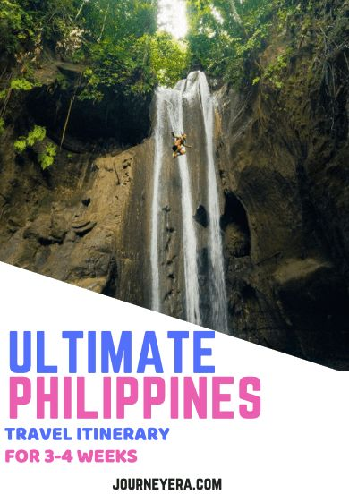 ULTIMATE PHILIPPINES TRAVEL ITINERARY FOR 3-4 WEEKS