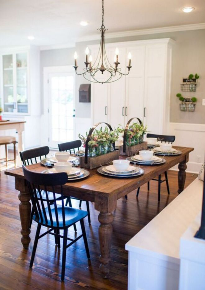 Something like this chandelier for the DR      Nothing says 'home' like gathering around the dinner table...