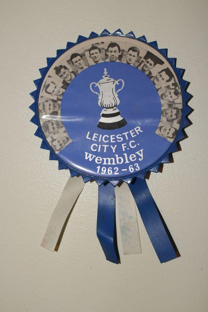 1963 Leicester City FA Cup Final Rosette