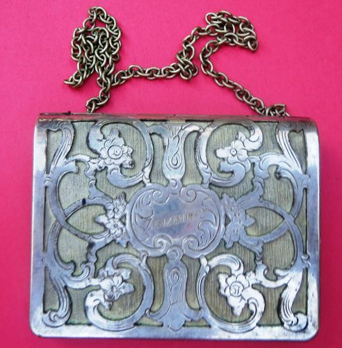 Silver Souvenir Purse from Zemzem 1912 Vintage Shriner's | eBay