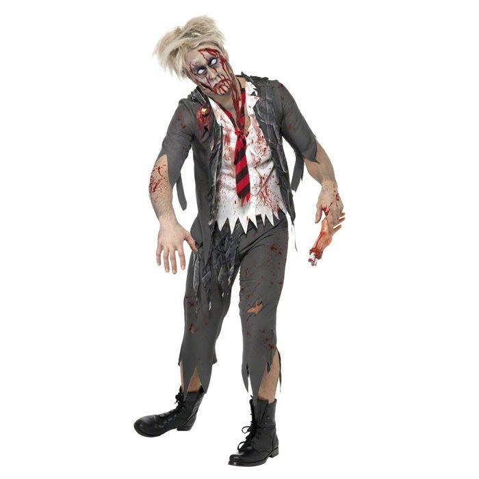 #Zombiekostüm Herren, #Zombie-Schoolboy