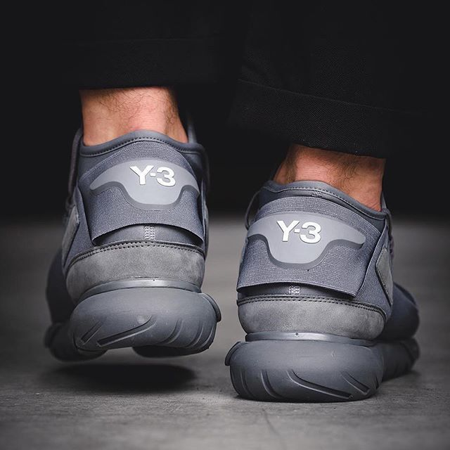 adidasy3: A classic. The Y-3 Qasa High in full grey. Available