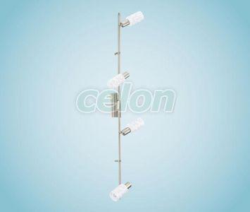 SZPOT 91315 Pesaro 1, 4X33W EGLO, Világítástechnika, Beltéri dekor világítás, Fali és mennyezeti szpot lámpák, Eglo