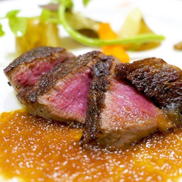 。 # 佐賀で佐賀牛ヒレ肉 ♬ ほとんどソースを付けずに頂きました♪( ´▽`)! # #ステーキ #steak #佐賀牛 #ヒレ #赤身 #A5  #肉 #肉部 #肉活 #佐賀 #saga #japan #food #foodstagram #instafood #yummy #beef  #美味しい #filet