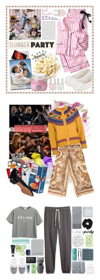 """Winners for Sleep on It! Slumber Party Style"" by polyvore ❤ liked on Polyvore featuring Victoria's Secret, Borghese, John Lewis, Nails Inc., slumberparty, BCBGMAXAZRIA, Junk Food Clothing, Chanel, Theodora & Callum and Kenzo"
