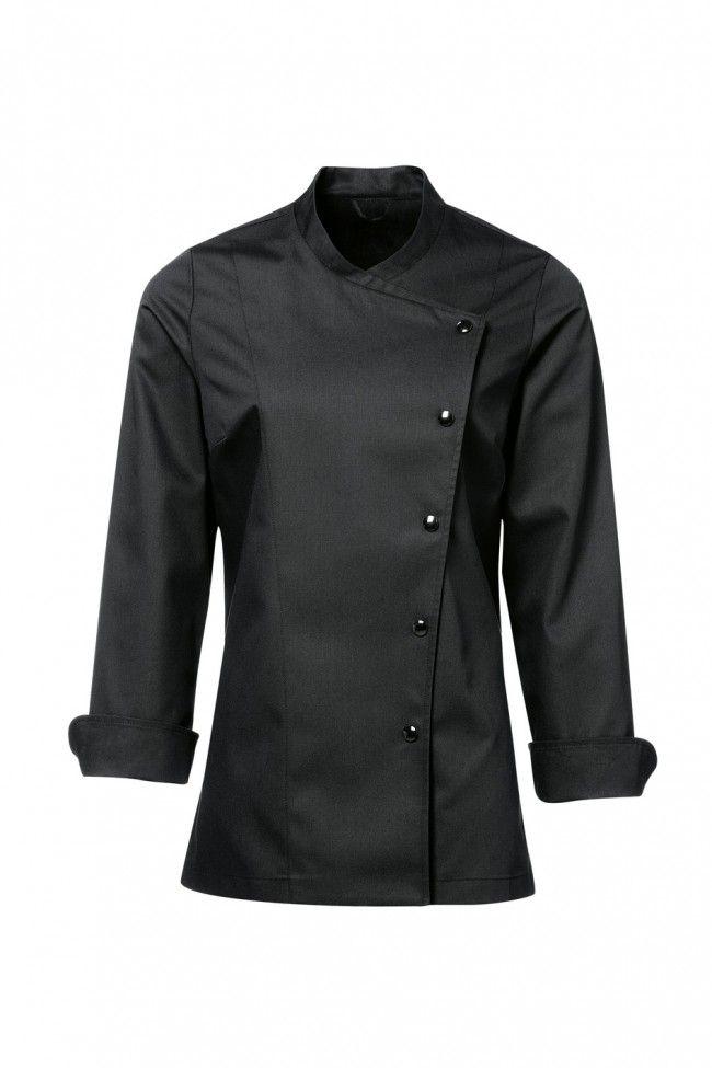 Julia Female Chef Jacket Black Women S Uniforms