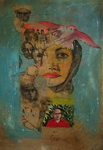 #ap2dtheme #artsed -Past & Present proportionally  Shahram Karimi (Iranian, b.1957)