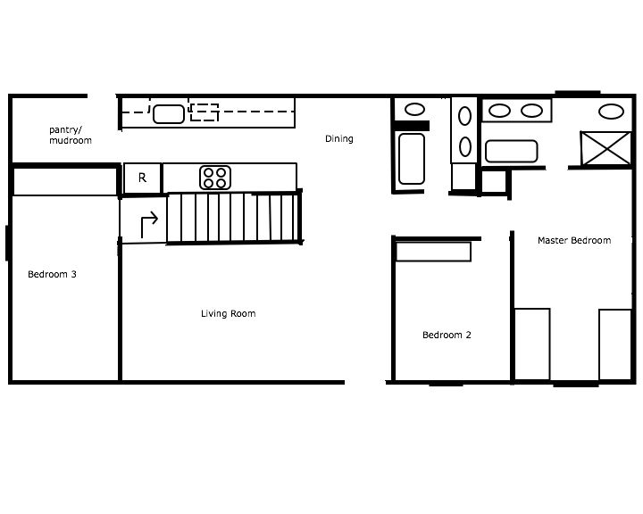 Proposed Cleveland House Floorplan ;-)