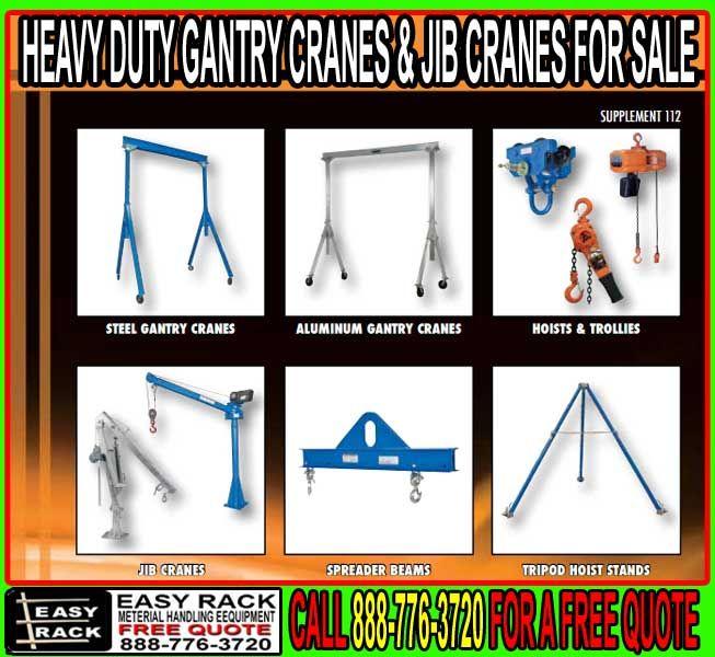 Gantry & Jib Cranes For Sale
