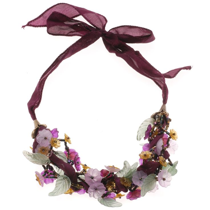 Tutorial - How to: Bountiful Garden Necklace | Beadaholique
