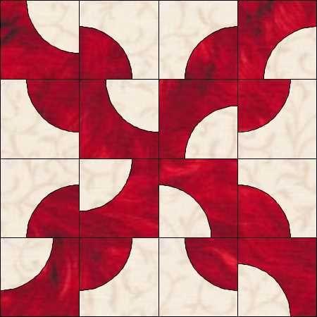 Drunkard's Path Quilt Pattern Variations | But a Drunkard's Square??