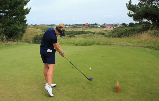 Hull storms into contention - After picking up nine birdies in the third round of the Women's British Open Charley Hull questioned whether or not she played aggressive golf