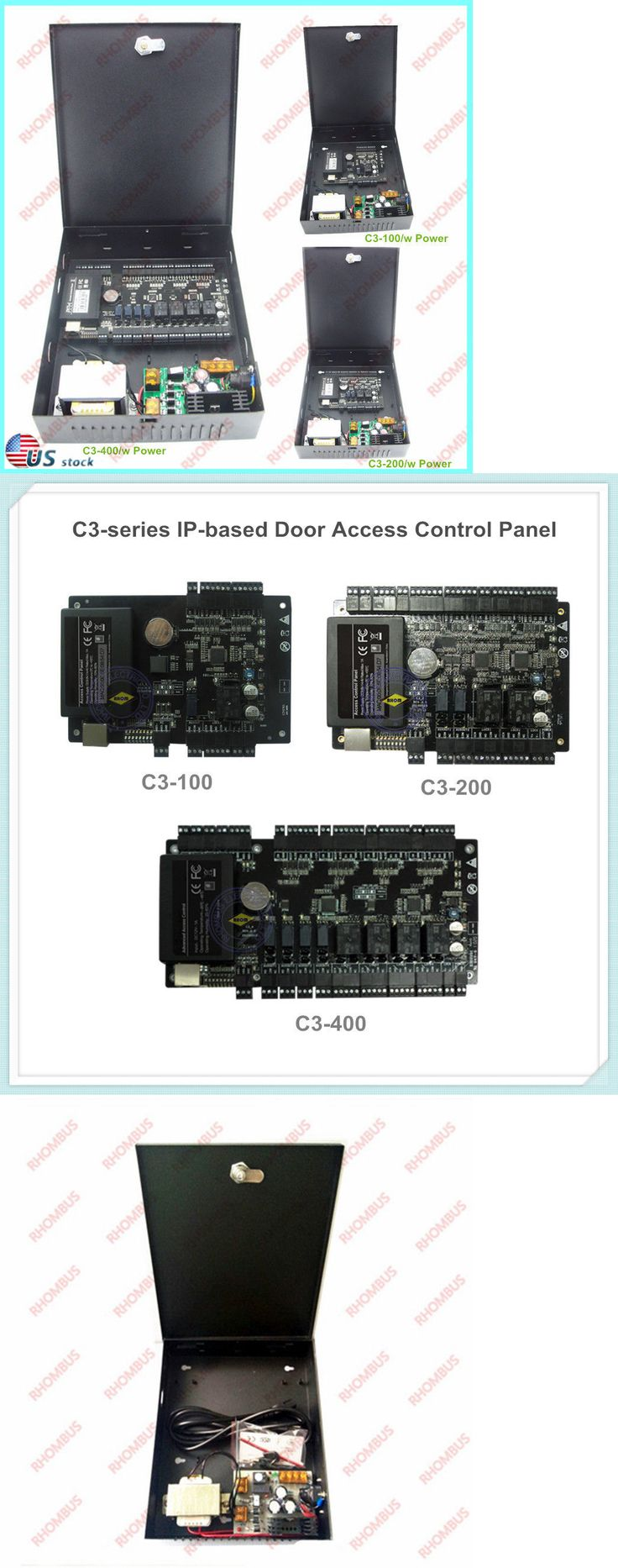 Other Home Security 20589: Zk Tcp Ip Rs485 Zksoftware C3 Series Ip-Based Door Access Control Panel W Power -> BUY IT NOW ONLY: $106.95 on eBay!