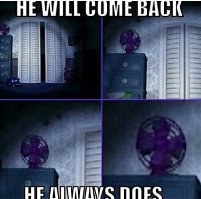 What the hell? Why do we even need the fan? In the words of the wise: The fan is what's taking up most of the power. (In FNAF 1)