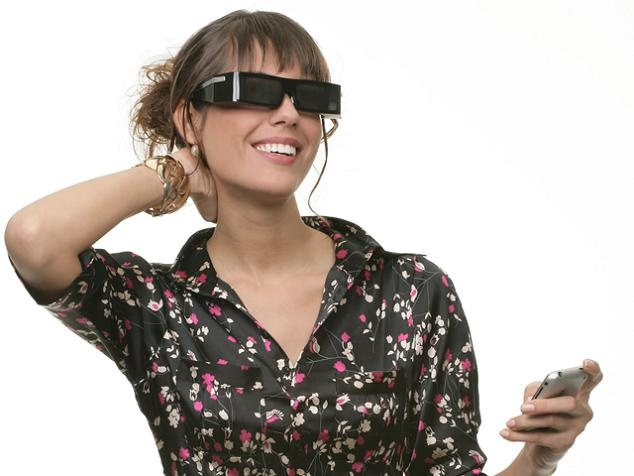 15 Creative Wearable Gadgets:    TV/Internet Sunglasses - These lightweight, portable and discreet glasses allows you to watch TV, read email or glance at stock tickers without anyone else knowing you are doing this.