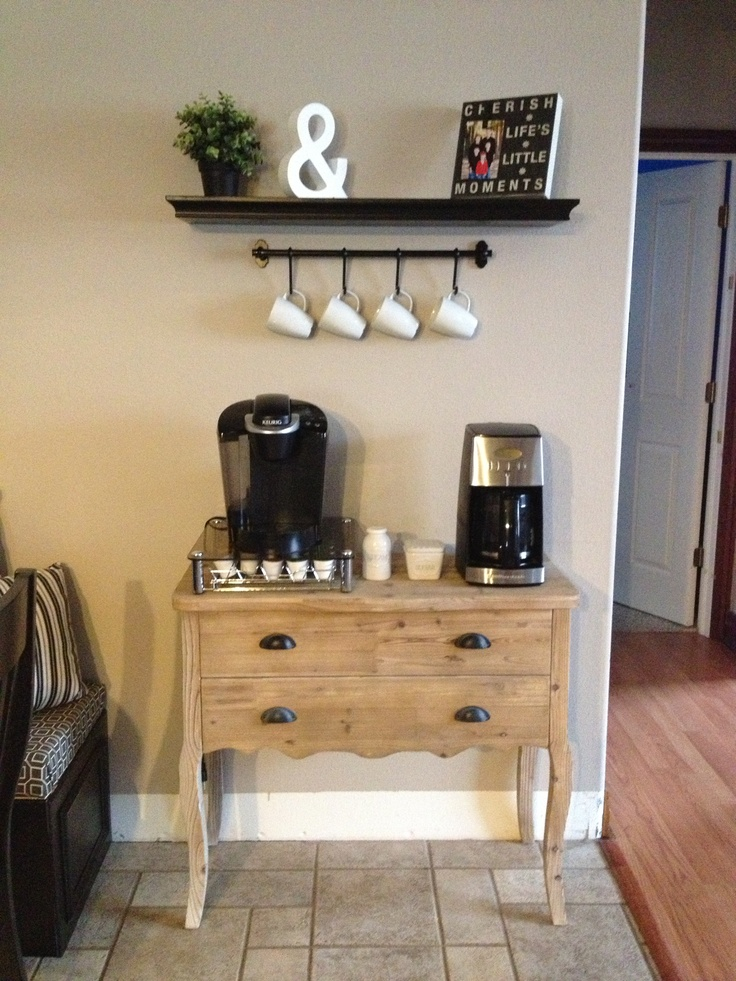 17 Best Images About Home Coffee Bar On Pinterest House