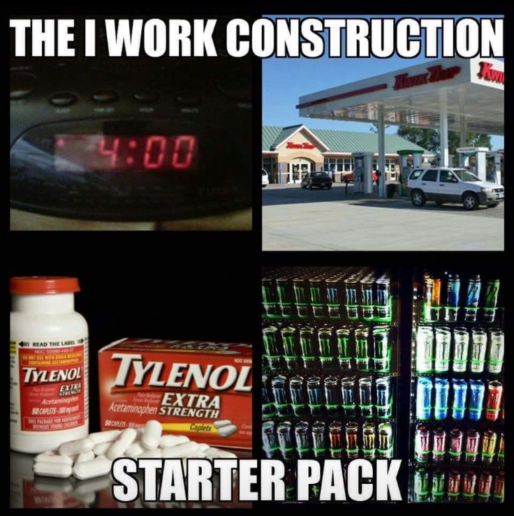 #Construction #ConstructionStarterPack