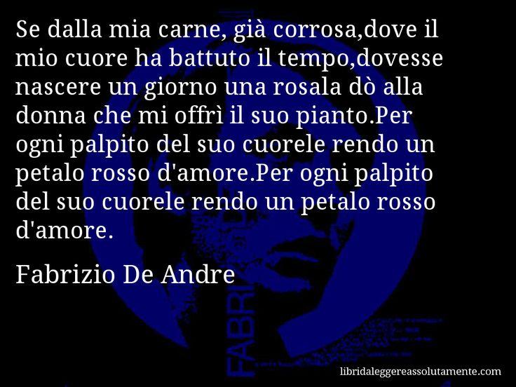 Cartolina con aforisma di Fabrizio De Andre (9)