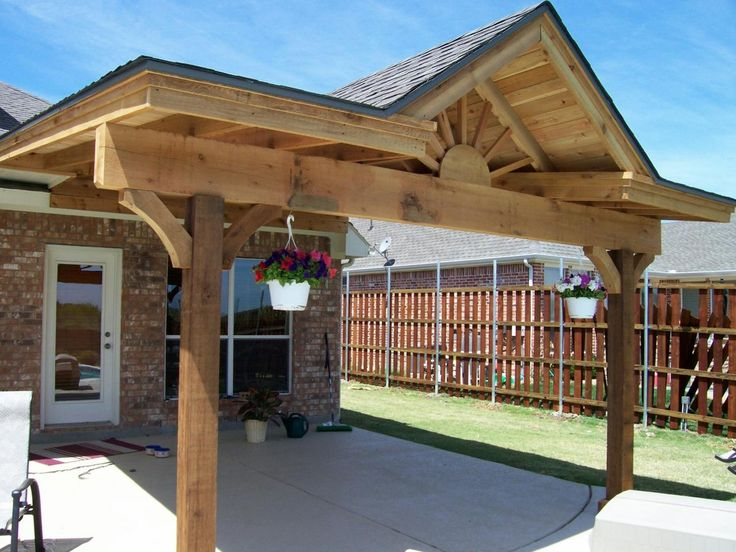 First choice construction patio covers dream deck for Car patio covers