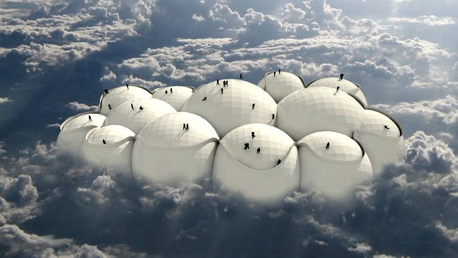 Forget planes or trains, could clouds hold the key to the future of travel?