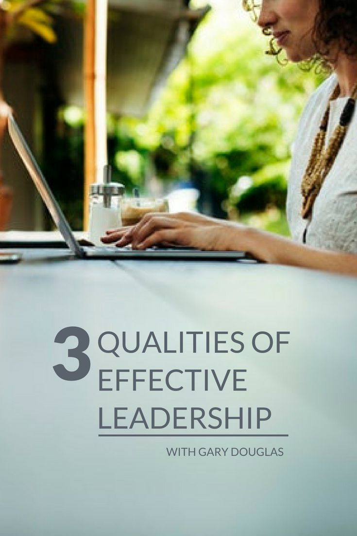 "3 Qualities of Effective Leadership in the Modern Workplace  The concepts and values of leadership have evolved over the years. While the ideas of ""Be loyal to your employer and do what you are told,"" ""Get people to follow you,"" or ""Climb your way to the top"" used to be the standard mode of operation, times have changed. Find out more here. Gary Douglas in HR Daily Advisor"
