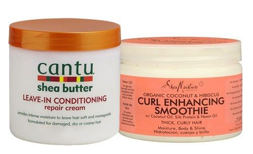 Curly Girl newsflash: my favourite hair care: Shea Moisture Curl Enhancing Smoothie & Cantu Shea butter Leave in Conditioner. No shrinkage with this combination. If you want to see photo's of the result, check out the link. #curlyhair #naturalhair #naturalcurls #curlyhaircare #sheamoisture #cantu #sheabutter #blogger #productreview