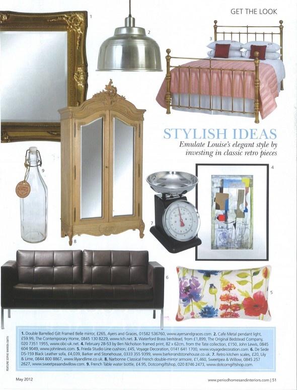 Period Homes & Interiors De Sede DS 159 May 2012