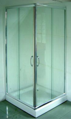 Rohová kabína s 2 zásuvnými dverami Ponúkam na predaj rohovú kabínu: 6mm bezpečnostné sklo 90x90x182,5 cm biela bežná cena: 379€, ponúkam za 300€  V prípade záujmu mi napíšte mail .