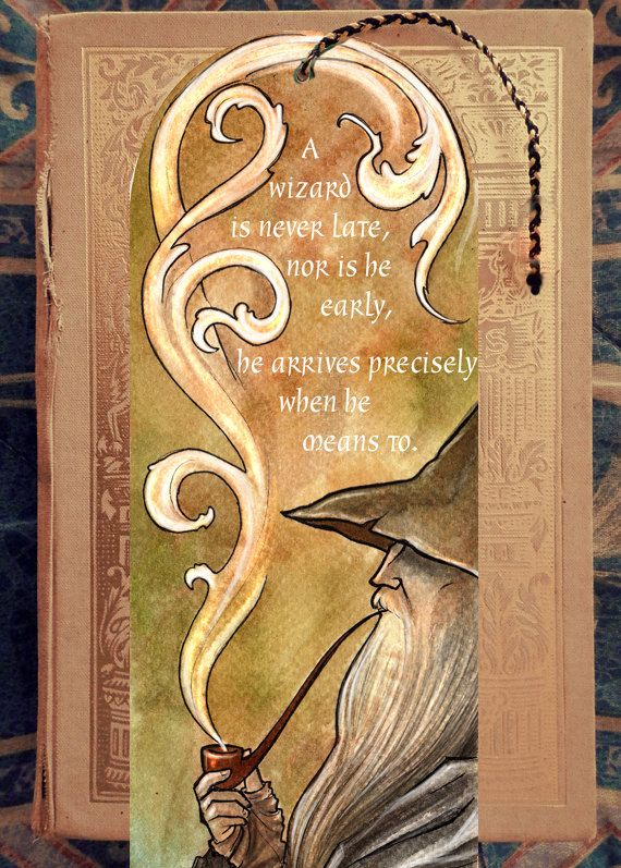 Hello to you all, elves, dwarves, hobbits and wizards! Heres a unique gift for all bookworms:) A Tolkien inspired bookmark. 150 gsm paper I ship