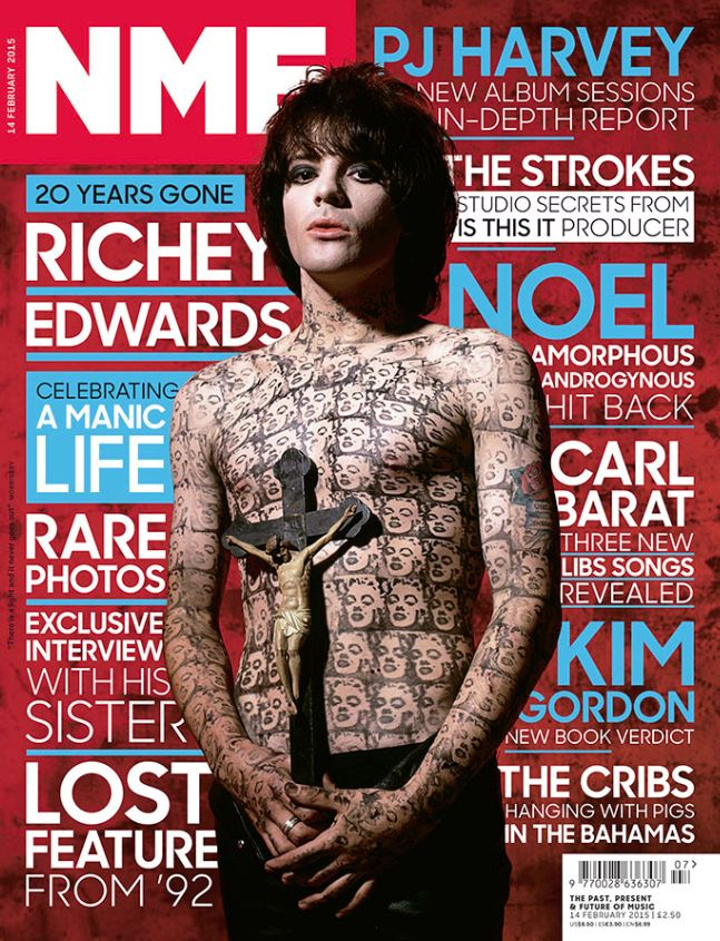 This week's NME is here, remembering the manic life and times of Richey Edwards http://nmem.ag/ISmgk