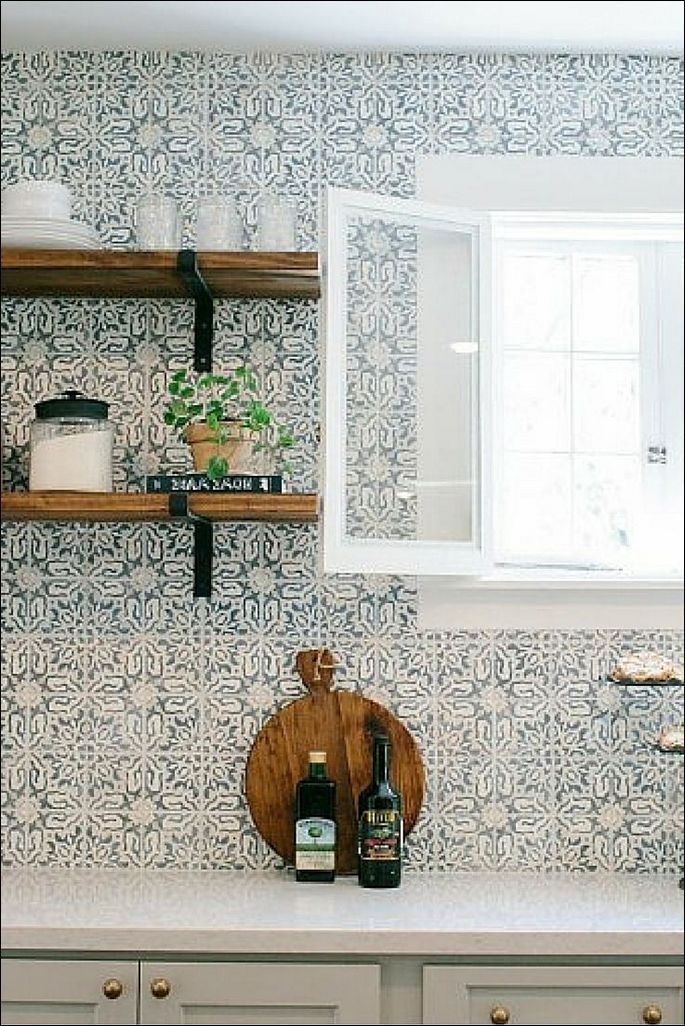 Kitchen Bathroom Wall Tiles Blue Floor Tile Mosaic Kitchen