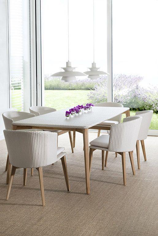 #Colección #Arc Sillas Mesa de comedor rectangular Chairs Rectangular dining table