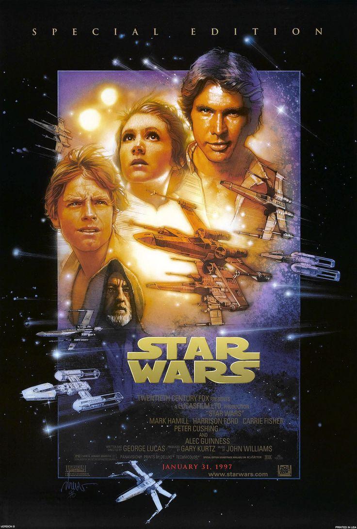 Cartel USA de Star Wars. Episodio IV: Una nueva Esperanza