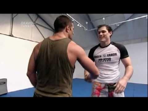 Alex reid vs Roger Gracie (monkey vs Lion) https://www.youtube.com/watch?v=f2LDNZMag-0